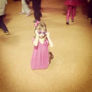 Zana has the moves like Jagger