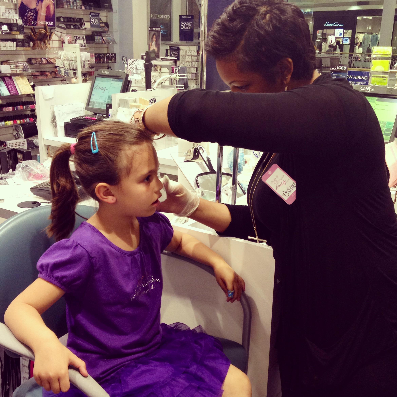 Kid Ear Piercing Teaches Lesson In Bravery