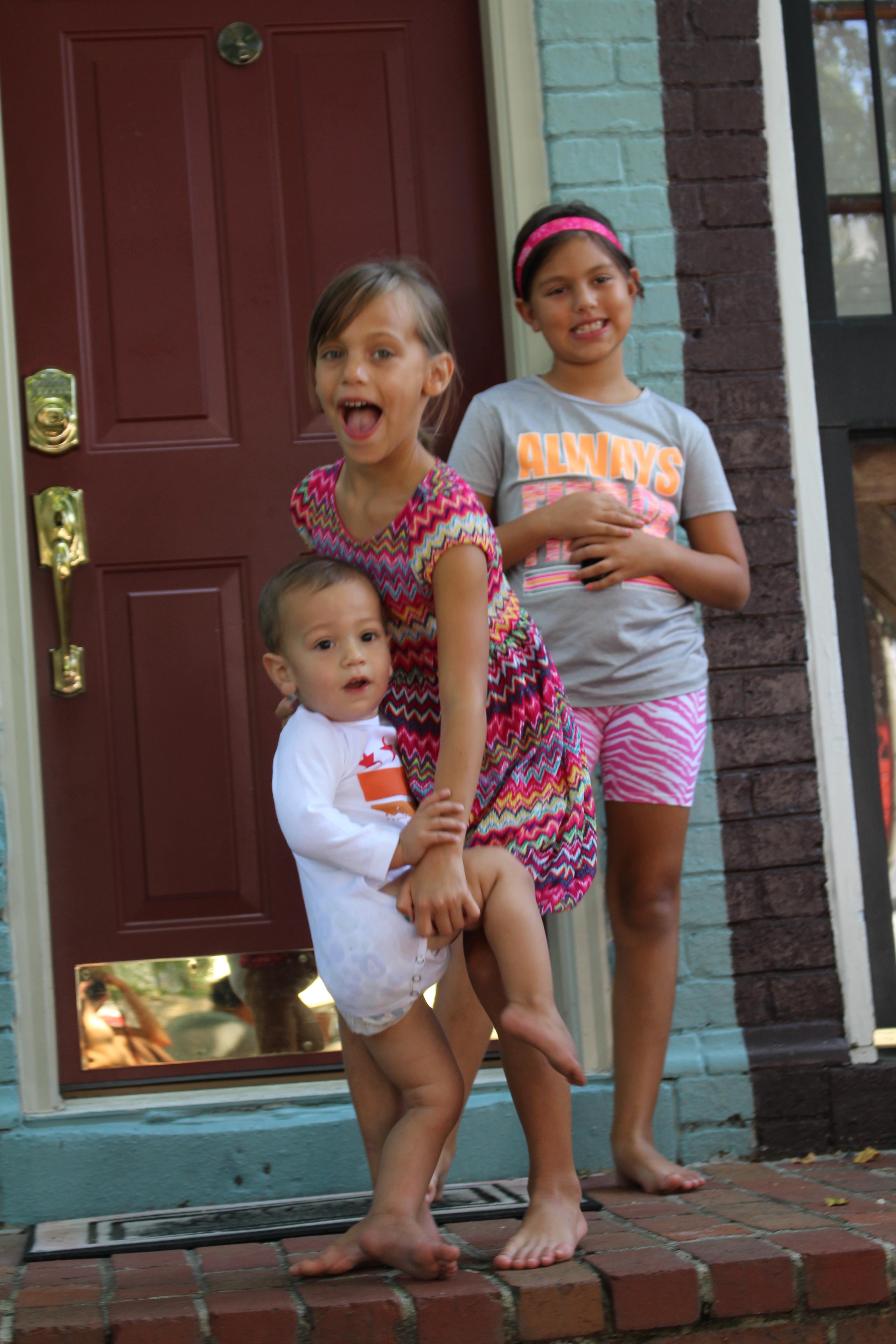 Sibling photo props